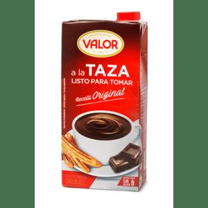 Chocolate a la taza Líquido listo para tomar VALOR - A Spanish Bite