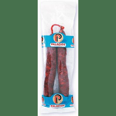 Chorizo Extra Picante PALACIOS pieza 250g - A Spanish Bite