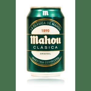 Cerveza Clásica MAHOU - Lata 33 cl - A Spanish Bite