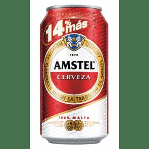 Cerveza AMSTEL- Lata 33 cl - A Spanish Bite