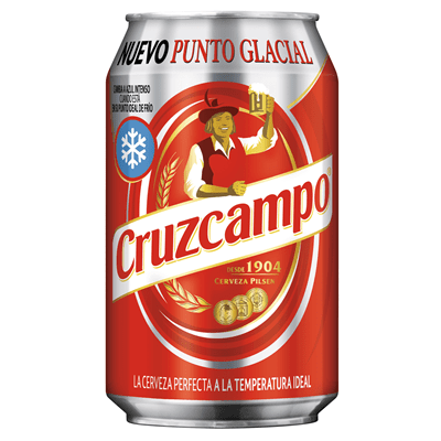 Cerveza CRUZ CAMPO- Lata 33 cl - A Spanish Bite
