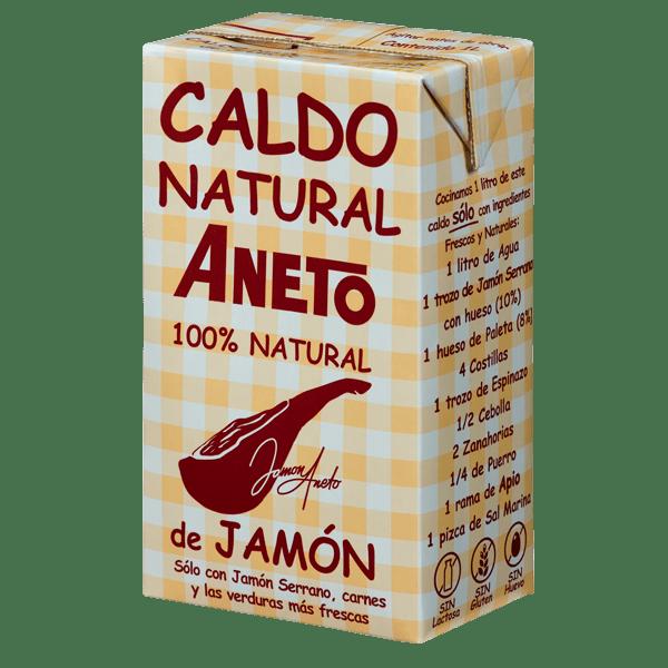 Caldo Natural de Jamón ANETO- 1L - A Spanish Bite