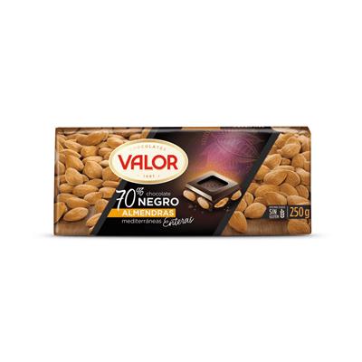 Chocolate con Almendras 70% VALOR - A Spanish Bite