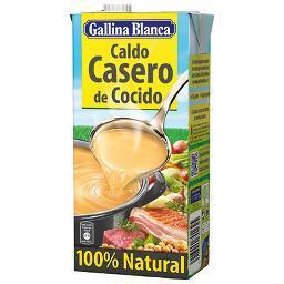 Caldo Casero de Cocido 100% Natural. GALLINA BLANCA 1 LITRO - A Spanish Bite