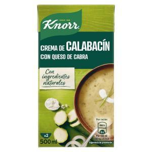 Crema de Calabacín con queso de cabra KNORR - A Spanish Bite