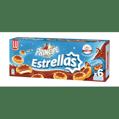 Galletas Merienda Estrellas Chocolate con Leche Príncipe - A Spanish Bite