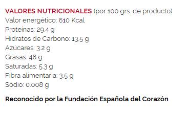 Pipas Tostadas sin Sal FACUNDO- 100 gr - A Spanish Bite