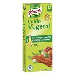 Caldo Vegetal KNORR – 12 pastillas - A Spanish Bite