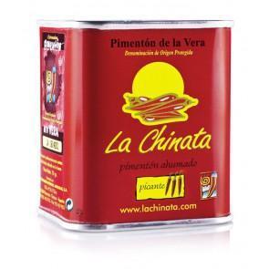 """Pimentón Picante Ahumado """"LA CHINATA""""- Lata 70g - A Spanish Bite"""