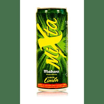 Cerveza Mixta de  MAHOU- Lata 33 cl - A Spanish Bite