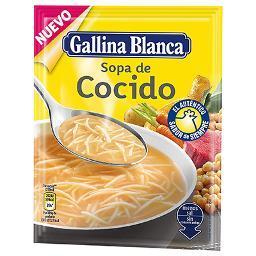 Sopa de Cocido GALLINA BLANCA - A Spanish Bite