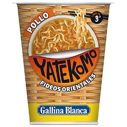 Fideos Orientales Yatekomo Pollo GALLINA BLANCA - A Spanish Bite
