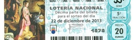Lotería de Navidad 2013: Ilusión y compromiso social.