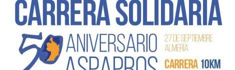 Carrera Solidaria 50 aniversario ASPAPROS