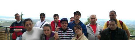 17 PERSONAS DE ASPAPROS VISITAN CAZORLA CON EL IMSERSO