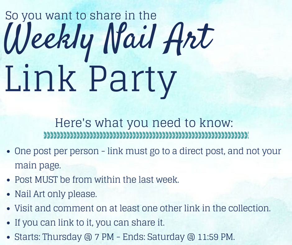 Best Of: Nail Art {Weekly Link Party}