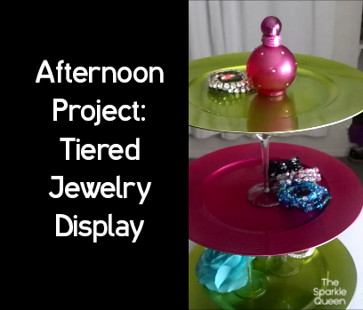 Tiered Jewelry Display – Afternoon DIY – {From the Vault}