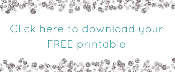 Free Printable by A Sparkly Life for Me