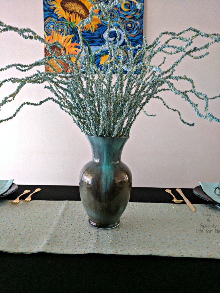 DIY Acrylic Pour Marble Vase Makeover and Centerpiece