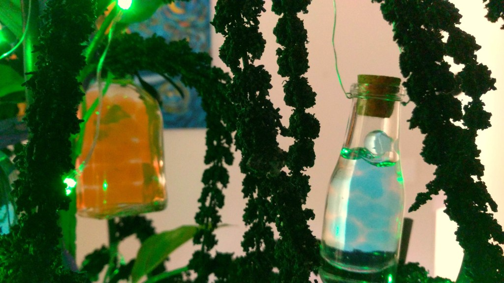 DIY Harry Potter or Halloween Potion Bottles Using Water Gel Beads by A Sparkly Life for Me