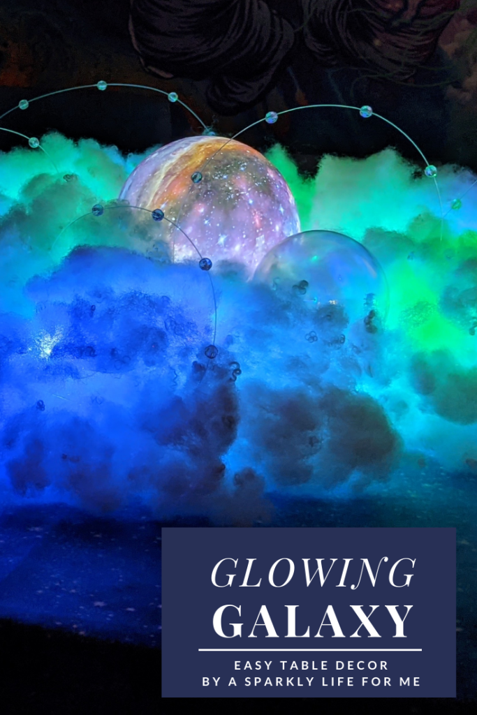 Glowing Galaxy Centerpiece and Table Decor for Summer