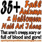fall autumn and halloween