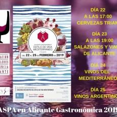 ASPA EN ALICANTE GASTRONÓMICA 2019