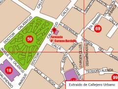 Foto de la ubicación de la Farmacia de Carmen Bordallo
