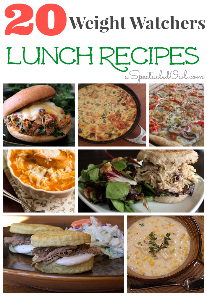 20 Weight Watchers Lunch Recipes A Spectacled Owl