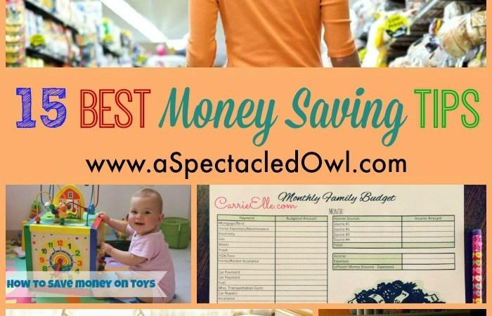 15 Best Money Saving Tips