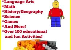 Homeschooling with LEGO - 100+ Resources & Activities