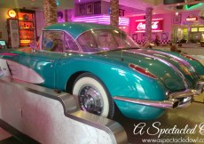 Visiting the Corvette Diner in San Diego