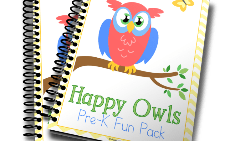 Happy Owls PreK Fun Pack