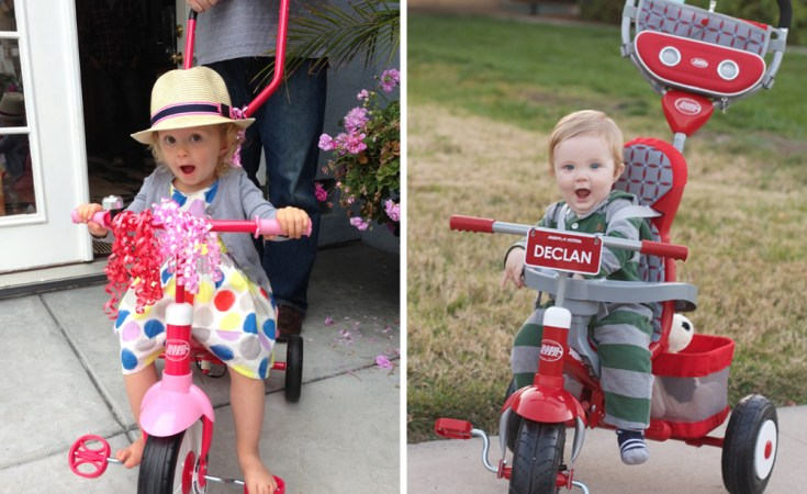 Personalize a Trike for Your Child with Radio Flyer's Build-a-Trike