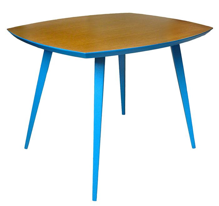 Table basse pieds compas vintage aspect meuble - Table basse pieds compas ...