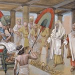 Moses and Pharaoh in Exodus