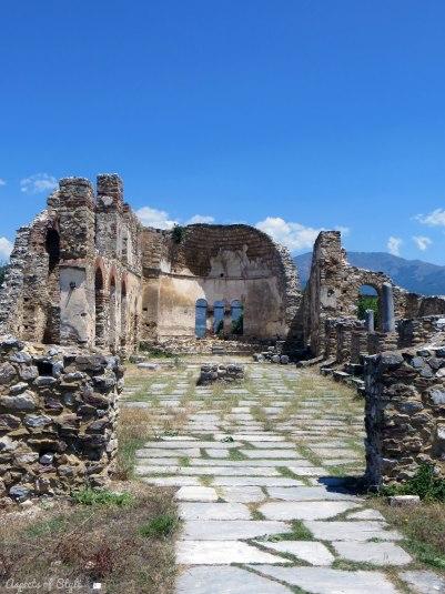 Agios Achilleios church in Small Prespa lake