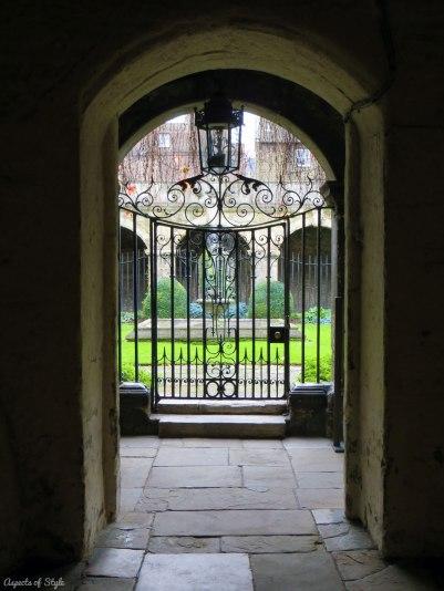 Little Cloister Garden, Westminster Abbey