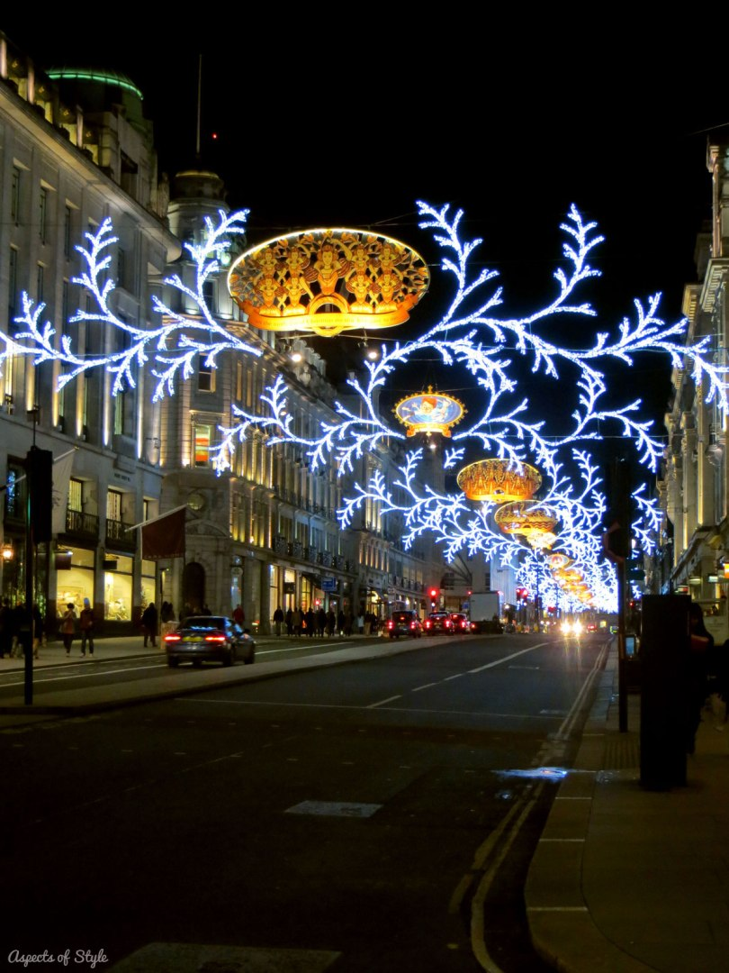 festive Regent Street