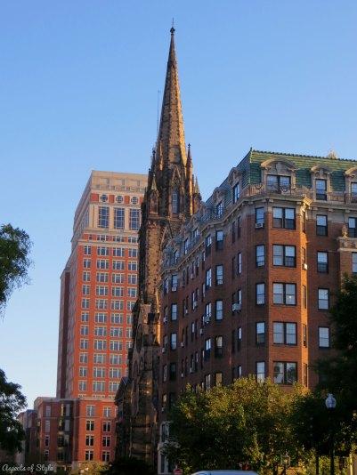 Commonwealth Avenue, Back Bay Boston