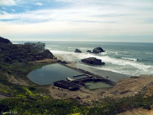 Sutro Bath ruins and Cliff House, San Francisco