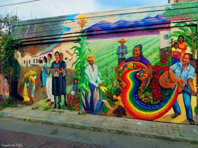 Balmy street murals, San Francisco