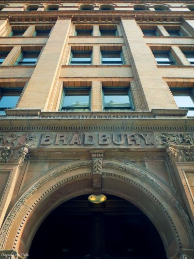 Bradbury building Downtown LA