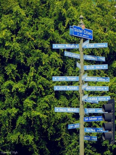 LA's sister cities
