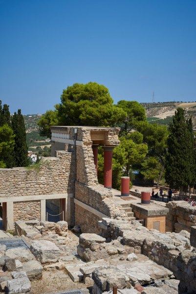 Knossos, Heraklion, Crete