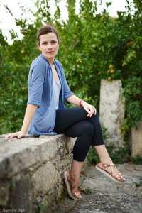 Urban Outfitters cardigan and Zara tank top