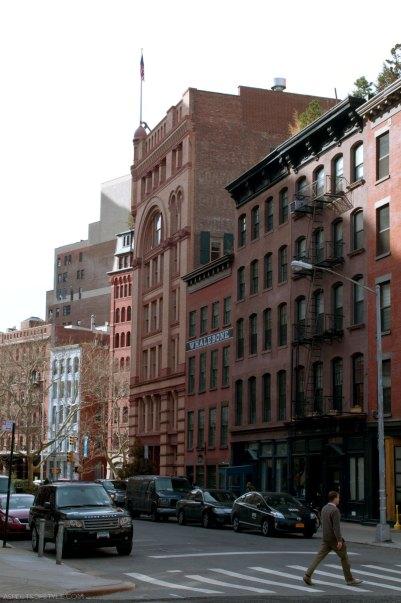 Lafayette street, New York City