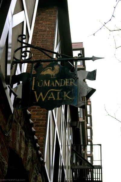 Pomander Walk, Upper West Side, New York City