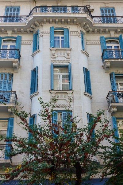 building in Pavlou Mela street