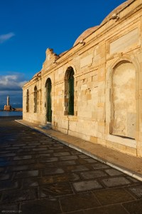 Giali Tzami former mosque in the old port of Chania